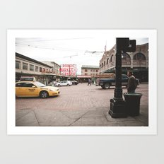 Pikes Place Art Print