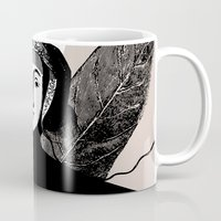 blossom Mugs featuring Blossom by Orit Kalev