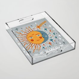 You are so easy to love Acrylic Tray
