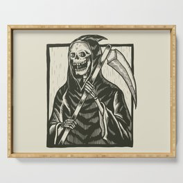 Angel of Death Grim Reaper Serving Tray