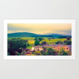 Wharfedale near Grassington Art Print