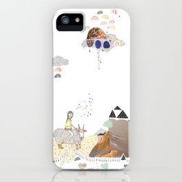 Hermit Crab vs. Snail iPhone Case