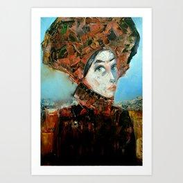 Dama Cosmopolita Art Print