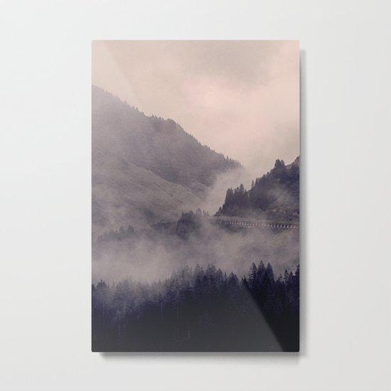 HIDDEN HILLS Metal Print