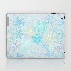 icy snowflakes Laptop & iPad Skin
