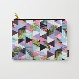 21s Century Memphis Style Pattern – Pastel Carry-All Pouch