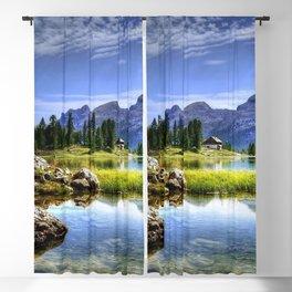 Beautiful Lake | OPEN WINDOW ART Blackout Curtain