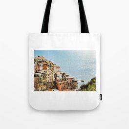 riomaggiore coast Tote Bag