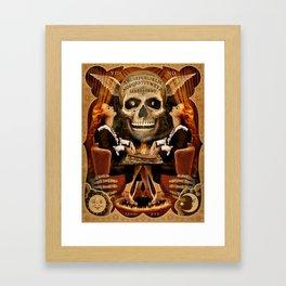Ouija Twins Framed Art Print
