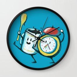 Wake up! Wake up! Wall Clock