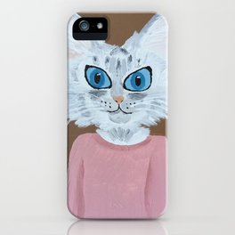 Baby the Cat iPhone Case