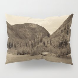 Crawford Notch-Sepia Pillow Sham