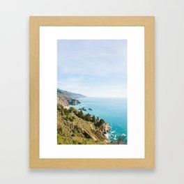 Big Sur 1 Framed Art Print