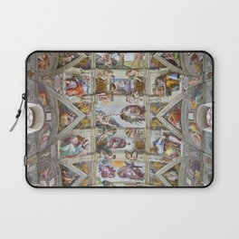 """Michelangelo """"Sistine Chapel ceiling"""", Laptop Sleeve"""