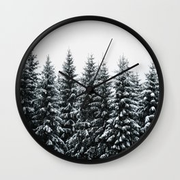 The White Bunch Wall Clock