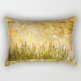 View at reeds abstract Rectangular Pillow