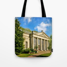 Temple Greenhouse (V2 Texture) Tote Bag