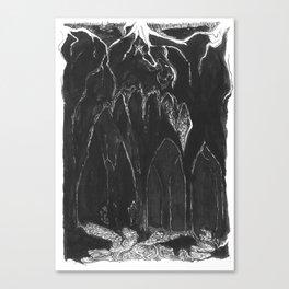 Caves Canvas Print