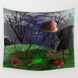 Fungalmorphic Wall Tapestry