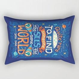 Same World Rectangular Pillow