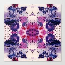 Wine & Flowers Photographic Pattern #1 Canvas Print
