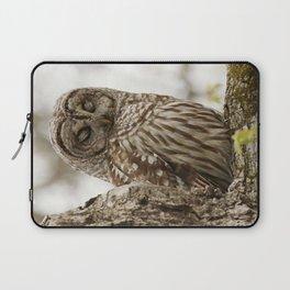 Feathered eyelids Laptop Sleeve