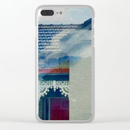 Floating through Carlton Clear iPhone Case