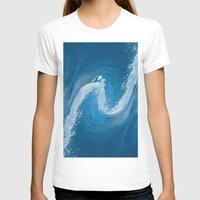 wave T-shirts featuring Wave by Baris erdem