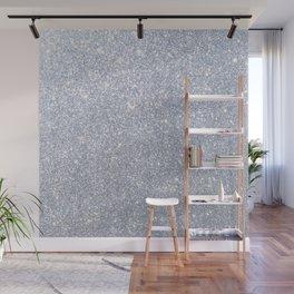 Silver Metallic Sparkly Glitter Wall Mural