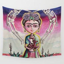 """""""Frida K."""" Wall Tapestry"""