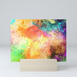 Rainbow Sherbert Mini Art Print