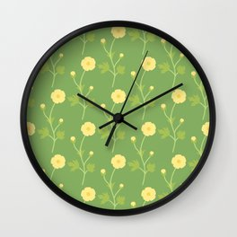 What's Up, Buttercup?  Wall Clock