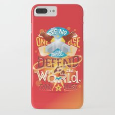 Defend the world Slim Case iPhone 7 Plus