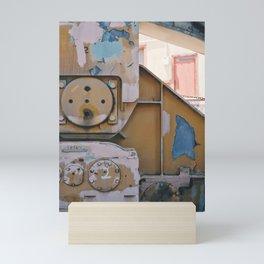 industrial pastels 1 Mini Art Print