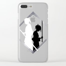 The Sword of Kaigen - Misaki and Takeru Graphic Clear iPhone Case