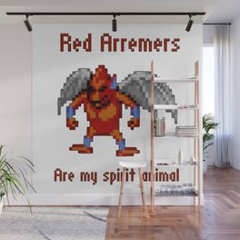 Red Arremers Are My Spirit Animal Wall Mural