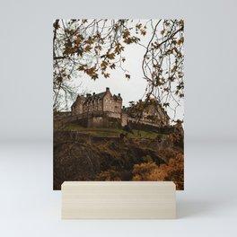 Edinburgh Castle I Mini Art Print