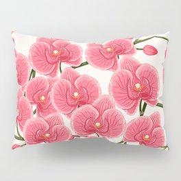pink orchids Pillow Sham