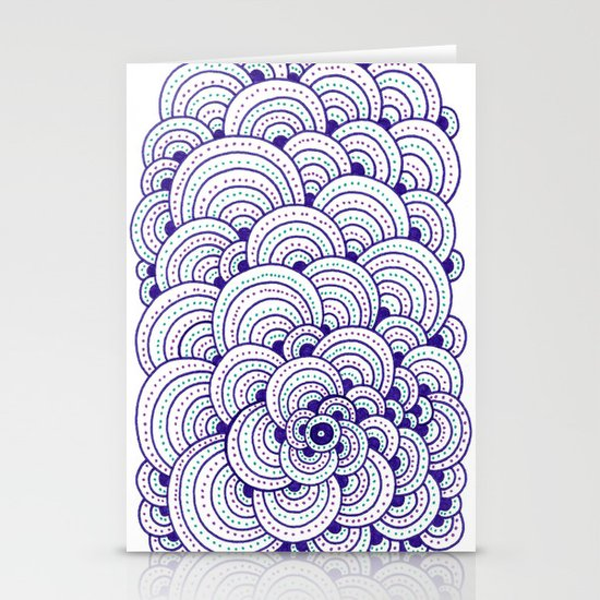 Dot Cluster Stationery Cards