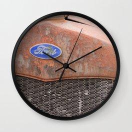 Rust Bucket Wall Clock