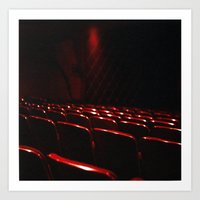 cinema Art Prints featuring cinema by stevee