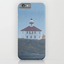 Eldred Rock Lighthouse - 3 iPhone Case