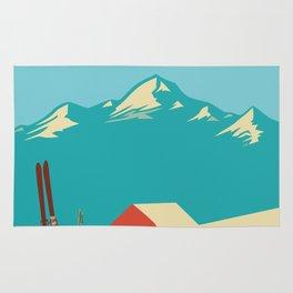 Vintage Mountains Rug