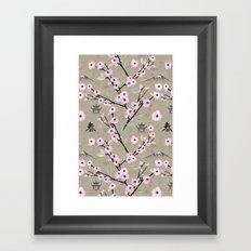 Japanese Spring Framed Art Print
