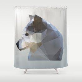 GEO - WINTER FOX Shower Curtain