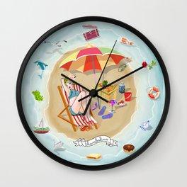Loony Island Wall Clock