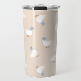 Cute ducks pattern Travel Mug