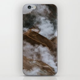 Kerlingjarfjöll smoky Mountains in Iceland - Landscape Photography iPhone Skin