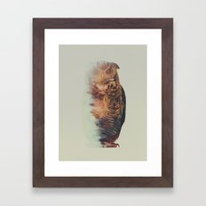 Norwegian Woods: The Owl Framed Art Print