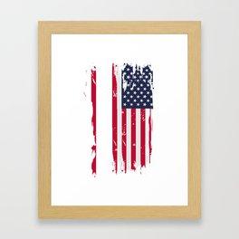 State Of Iowa Gift & Souvenir Design Framed Art Print